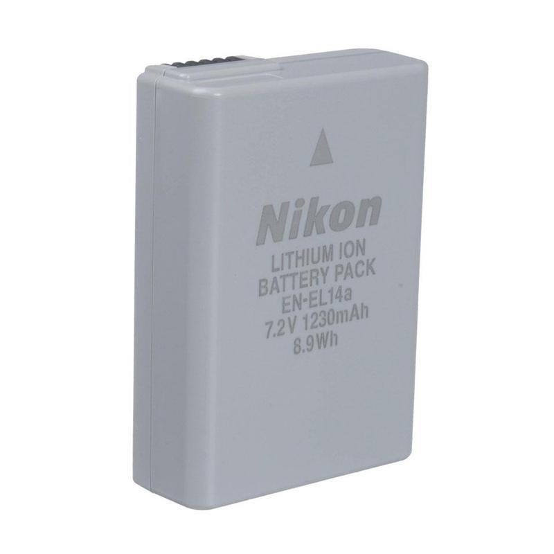NIKON EN-EL14A Battery / Baterai Kamera Nikon for DF/D3100/D3200/D3300/D5100/D5200/D5300 - Putih