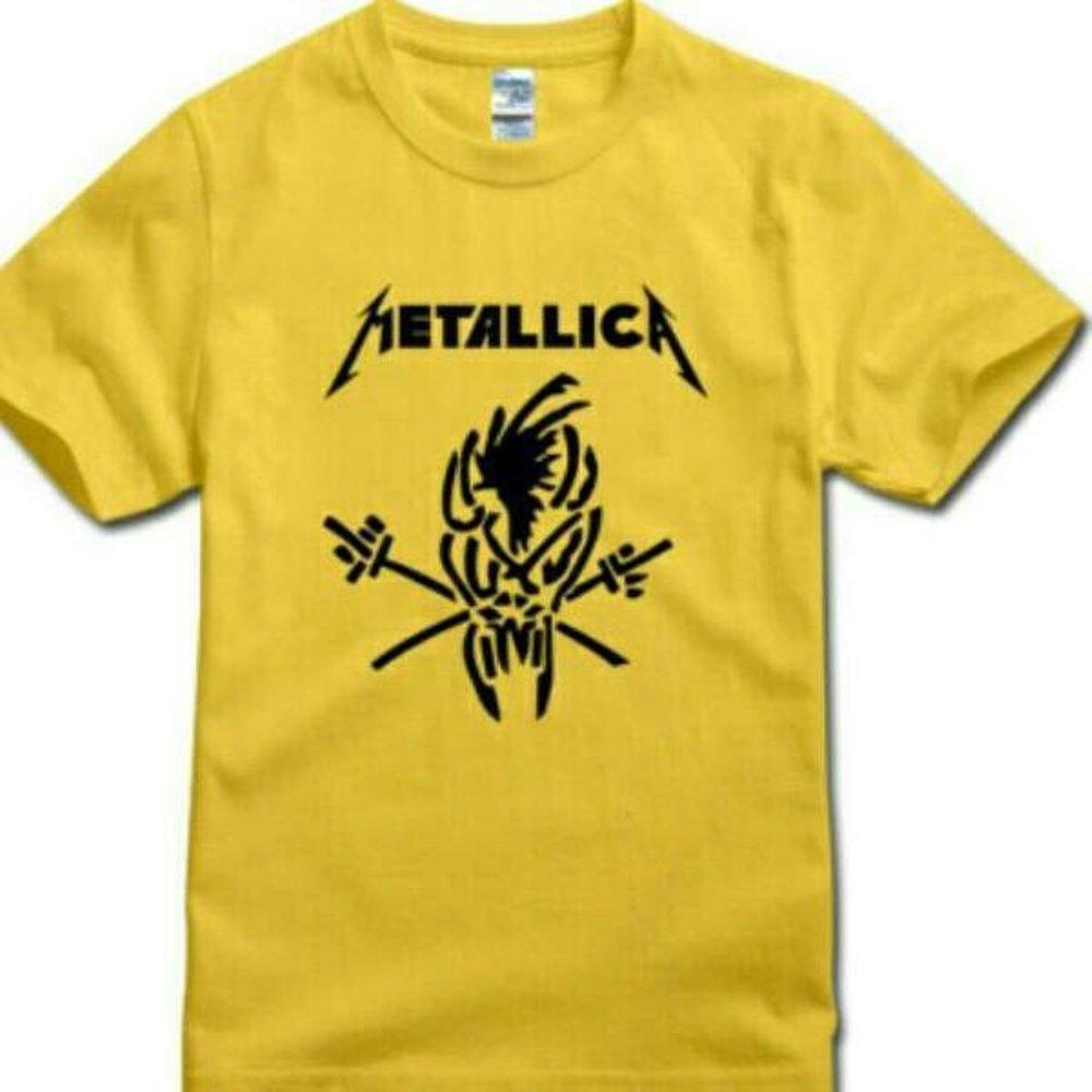 Buy Sell Cheapest Kaos Metallica 01 Best Quality Product Deals Metalica Tshirt Mini Album High