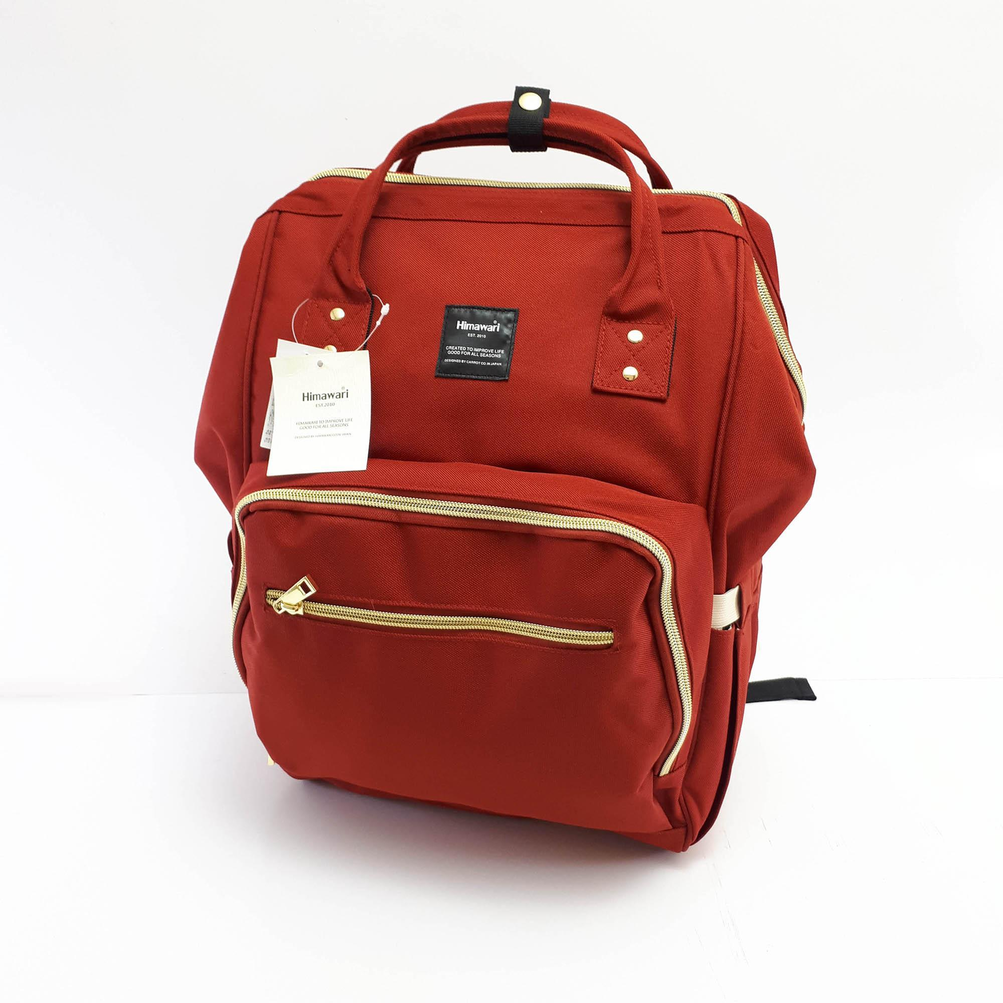 Tas Anello Selempang Ransel Backpack Small Mini Bag Import Tas Wanita - MERAH - EDW 027