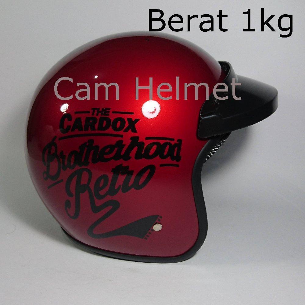 Helm Bogo Brotherhood Dengan pet tanpa kaca di lapak Cam Helmet cam_helmet