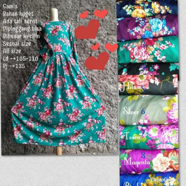 Buy Sell Cheapest Gamis Hyget Best Quality Product Deals