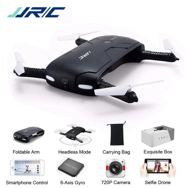 JJRC H37 Selfie Pocket 200W Wifi Kamera Drone RC Quadcopter