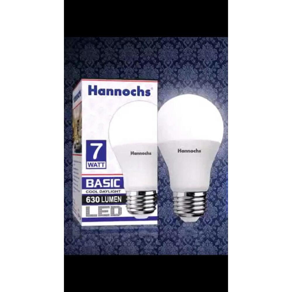 Lampu Led Hannochs Basic 7 Watt 7w Bohlam Ledbulb Terang Hemat Energi Bergaransi