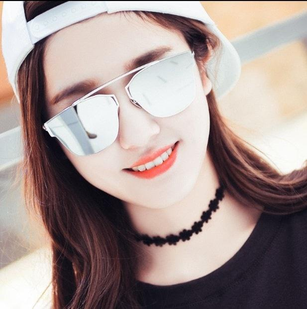 PROMO TER MURAH kacamata korea sunglases havana kc 39 HANYA SILVER