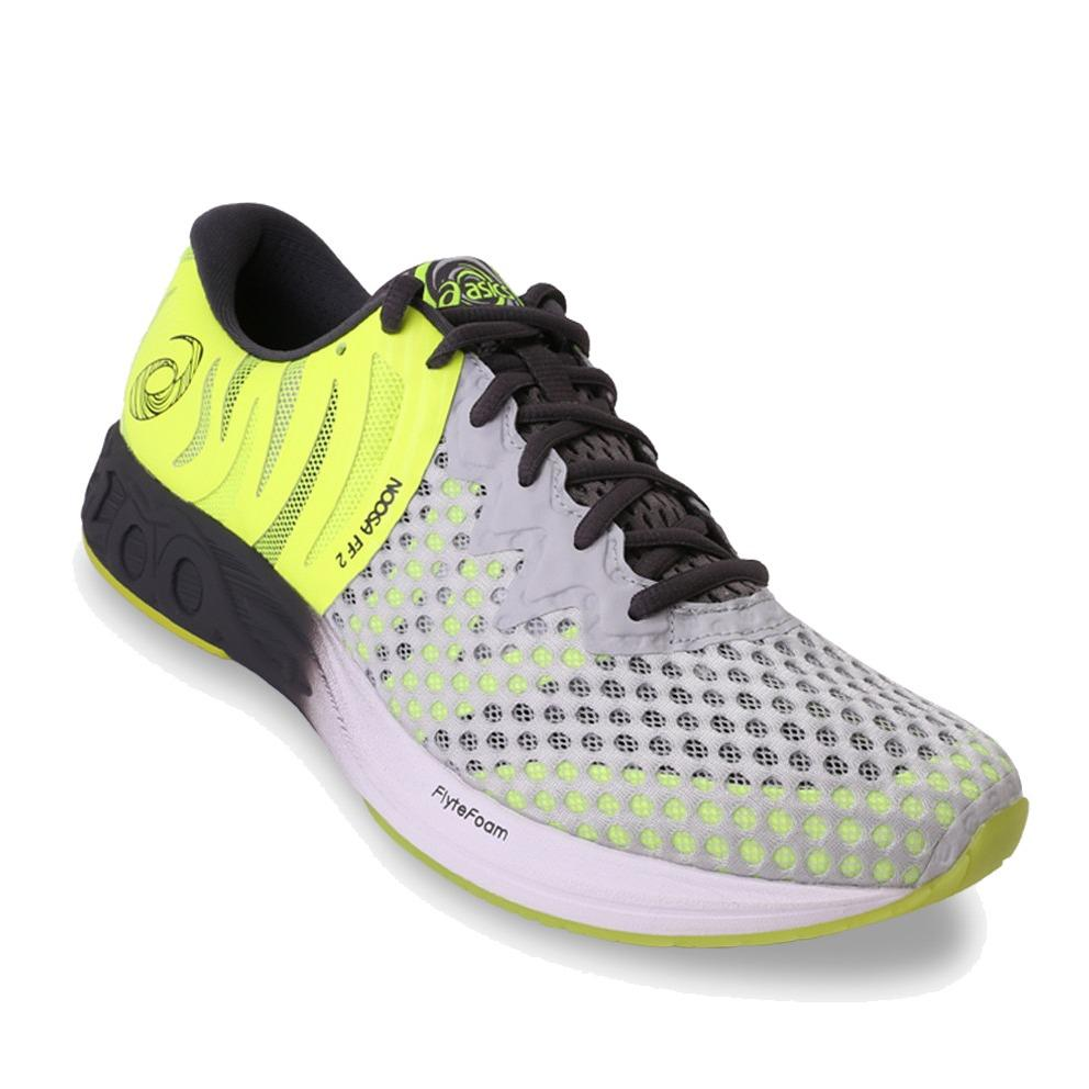Asics Noosa FF 2 Men's Running Shoes - Standard Wide - Abu-abu