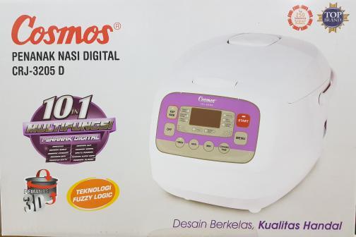 PROMO Rice Cooker 2 Liter - Magic com Digital Cosmos CRJ-3205D TERLARIS