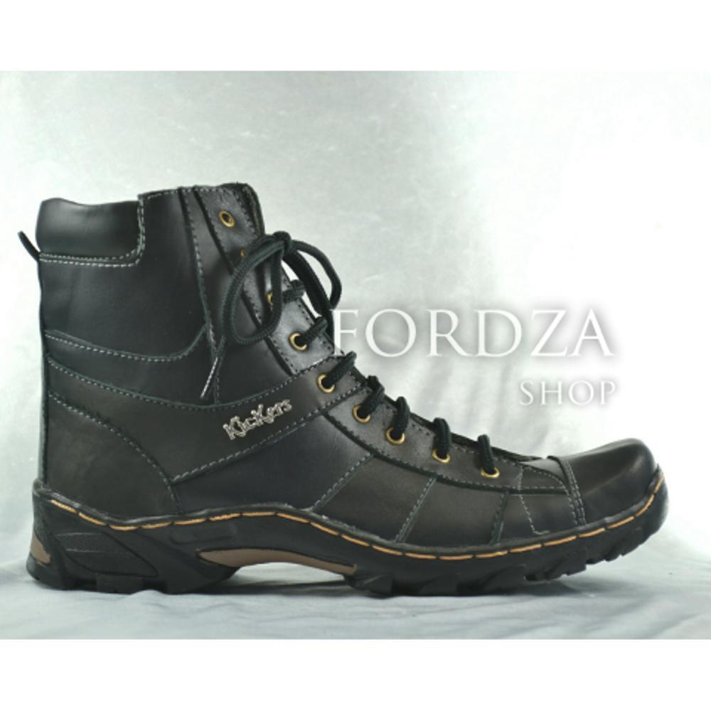 Boot / Boots Casual Pria Kulit Asli bukan Delta Caterpillar B01KS di lapak Fordza Shop kamslay