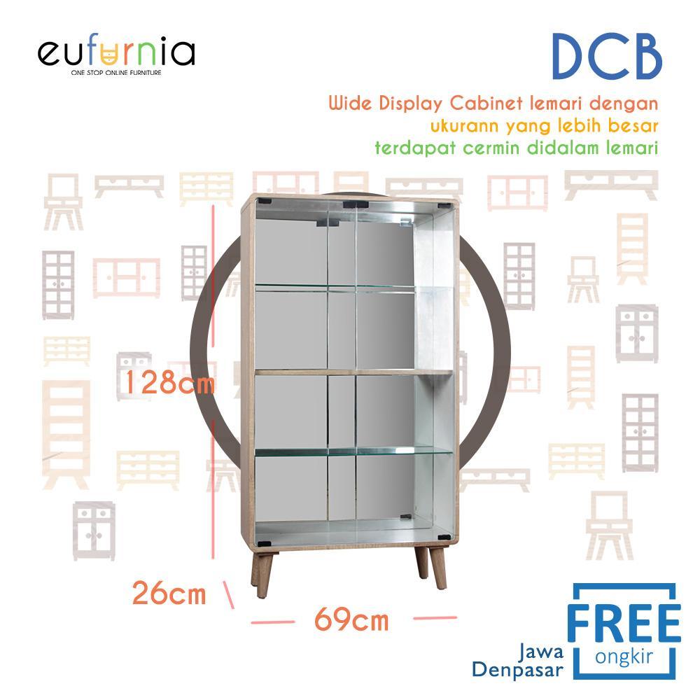 Eufurnia Olympic Curla Series Display Cabinet Big - Rak Pajangan Ukuran Besar