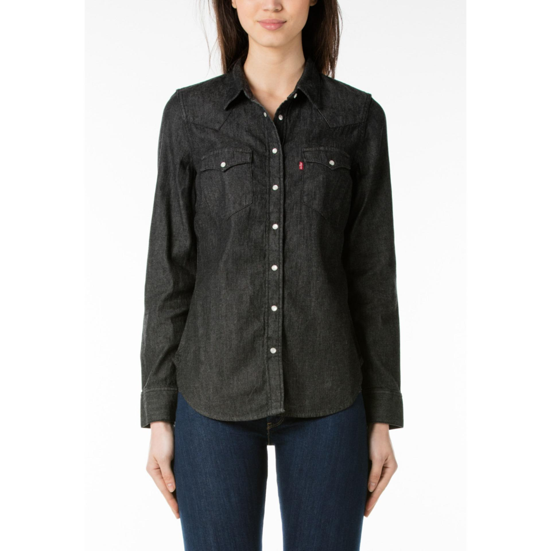 Levi's Tailored Classic Western Shirt - Vintage Black LVSRAYA10