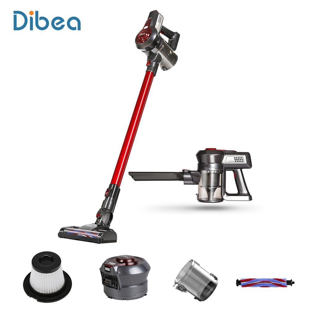 Original Dibea C17 Wireless Upright Vacuum Cleaner Portable 2-in-1 Handheld Cordless Upright Vacuum Cleaner For Home Appliances With Docking Station Sweeper