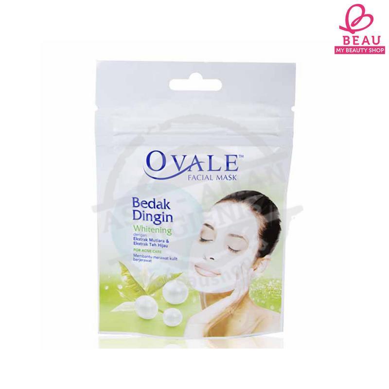 OVALE BEDAK DINGIN WHITENING GREEN TEA 15 G