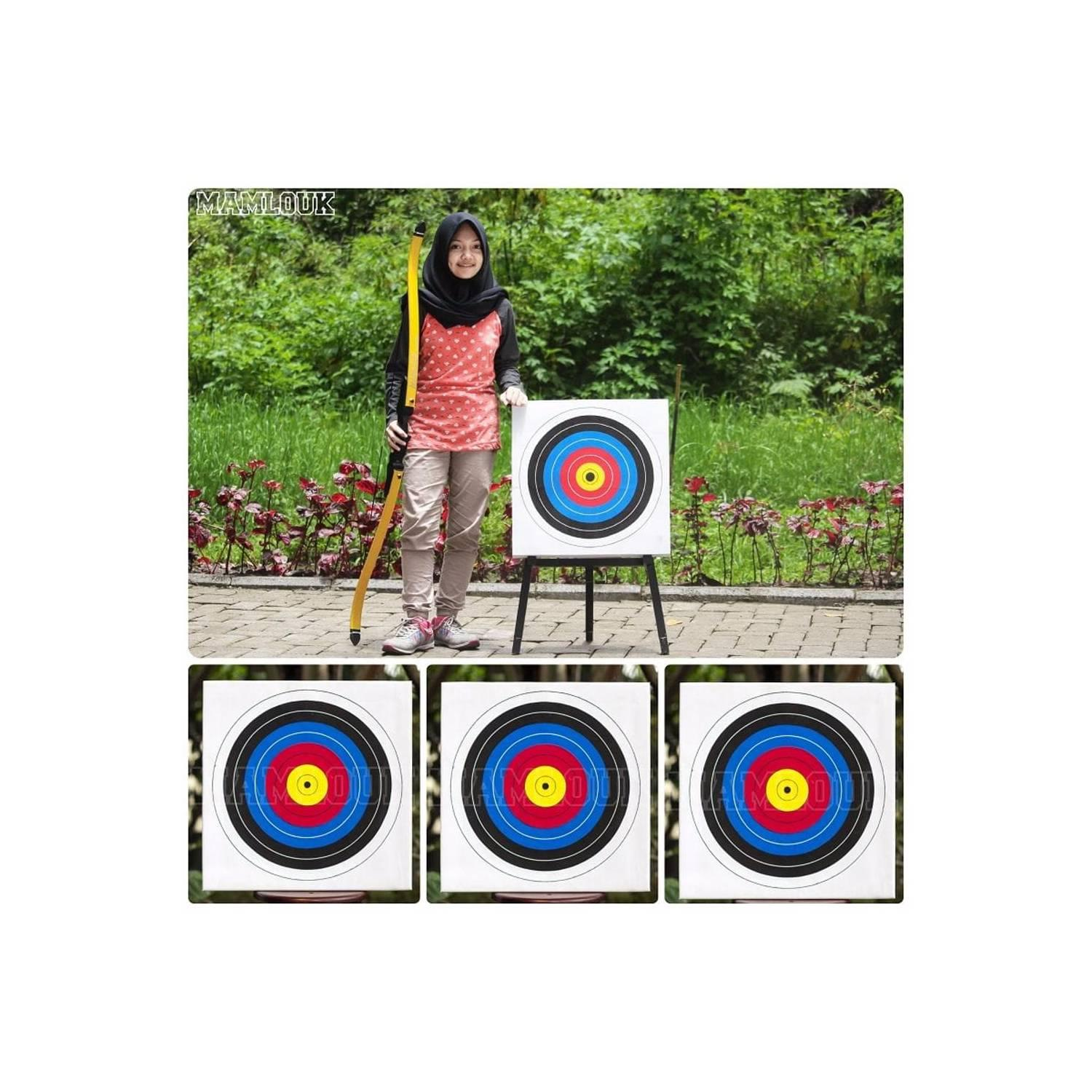 best seller Target Panahan Archery Target Olympic 50 x 50 x 3 cm