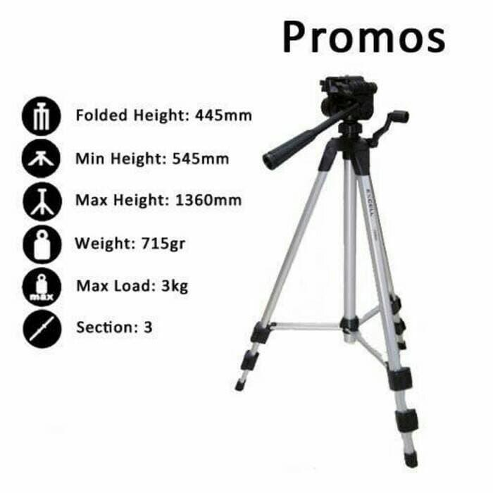 Best Seller!! Tripod Excell Promoss - ready stock