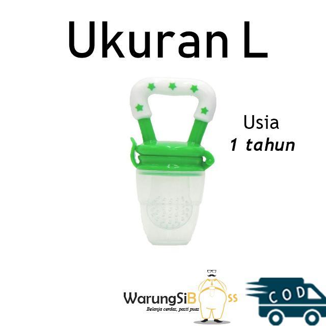 Warungsiboss 1 Pcs Empeng Dot Buah Bayi - Bpa Free / Empeng Buah Bayi / Dot Bayi / Empeng Bayi Lucu Ukuran L - Free Packing Kardus By Warungsiboss.