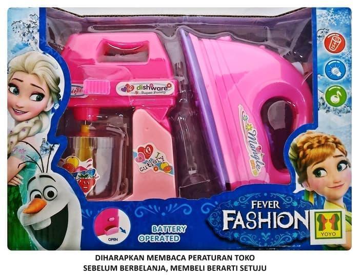 Fever Fashion Iron Set Mixer DN6232FZ-B Mainan Setrika