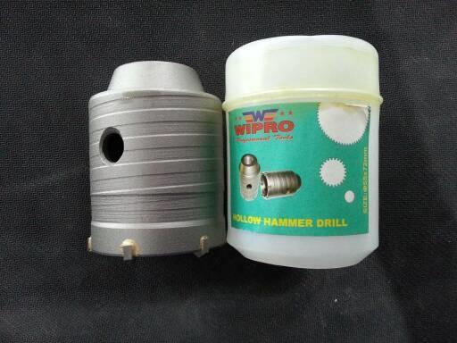 Holesaw Beton / Hollow Drill Core TCT bit 55 mm WIPRO