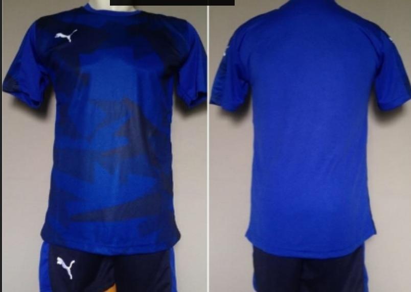Baju Kaos Celana Olahraga Jersey Bola Setelan Futsal Puma PM09 Murah