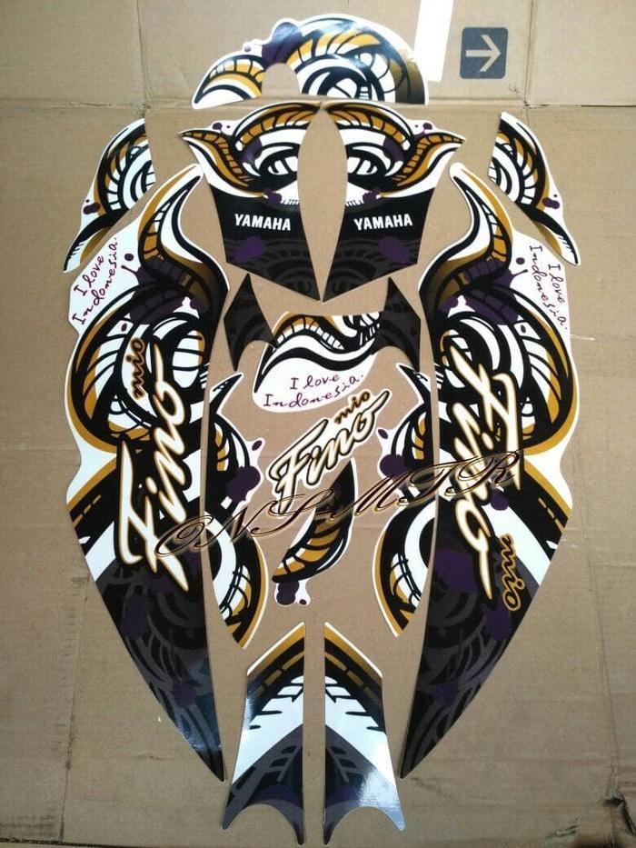 striping fino 2013 - 2014 model fino batik I love indonesian AJS NO1