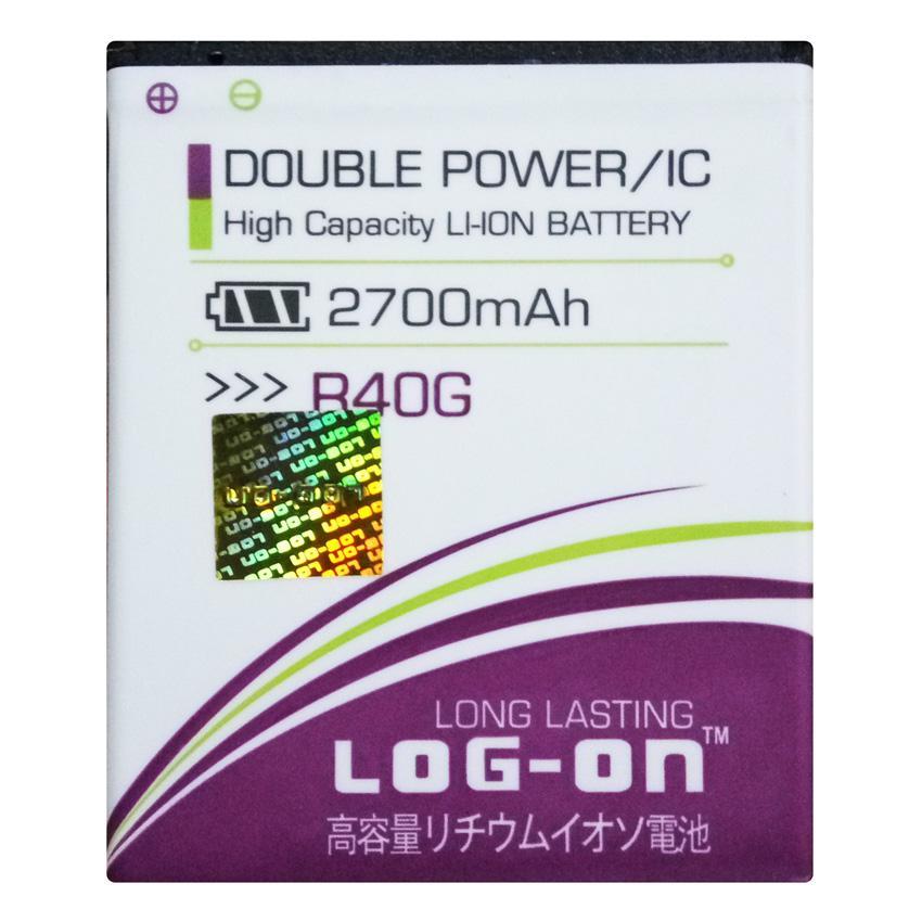 Log On Baterai Evercoss R40G - Double Power Battery - 2700 mAh