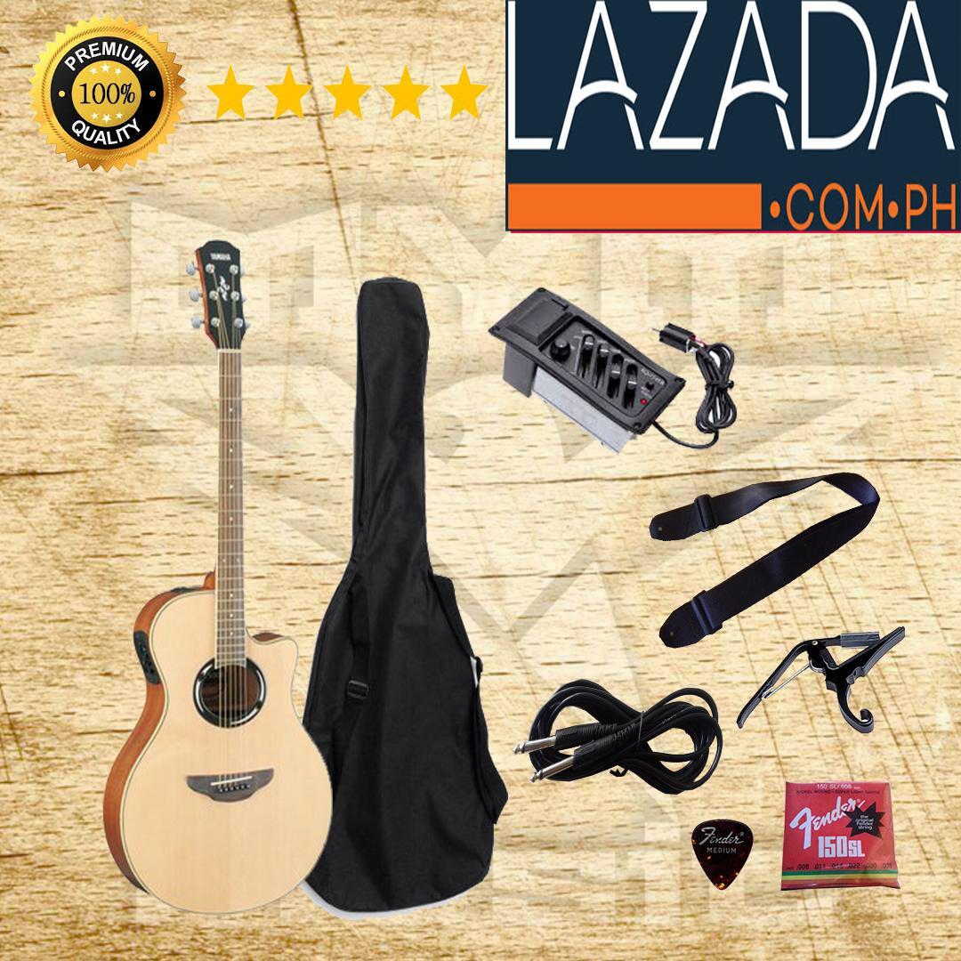 Gitar Akustik Elektrik APX500Il Custom YAMAHA Coklat Natural