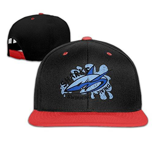 Big Boys' Keywords Like: Baseballcaps Sharks Swimming And Diving Team Adjustable Snapback Hats