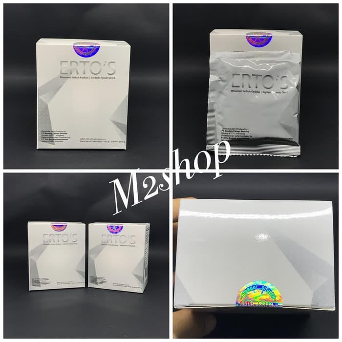[ Sachet ] ERTOS Soybean Powder Collagen Drink / Erto's Minuman Serbuk