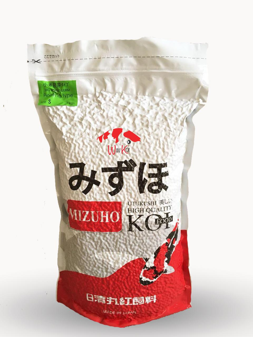 Mizuho Hg Wheatgerm (size S) Premium Koi Food Made In Japan / Pakan Koi / Makanan Ikan Koi Import By Winkoi.