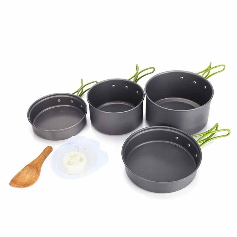 Nesting Cooking set DS-301 Misting Peralatan Masak outdoor DS301