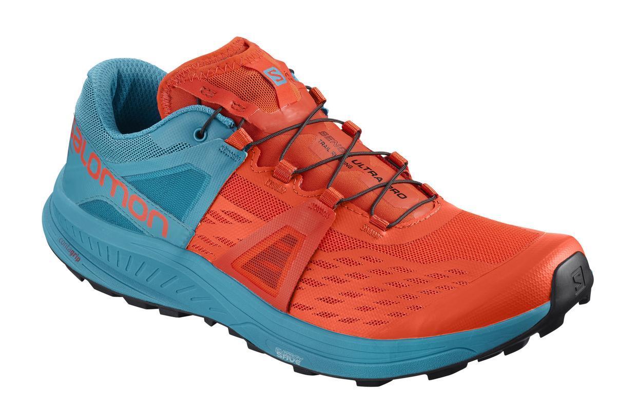 Salomon Sepatu Running Mens SENSE ULTRA PRO CHERRY TOMATO e43e1ff429