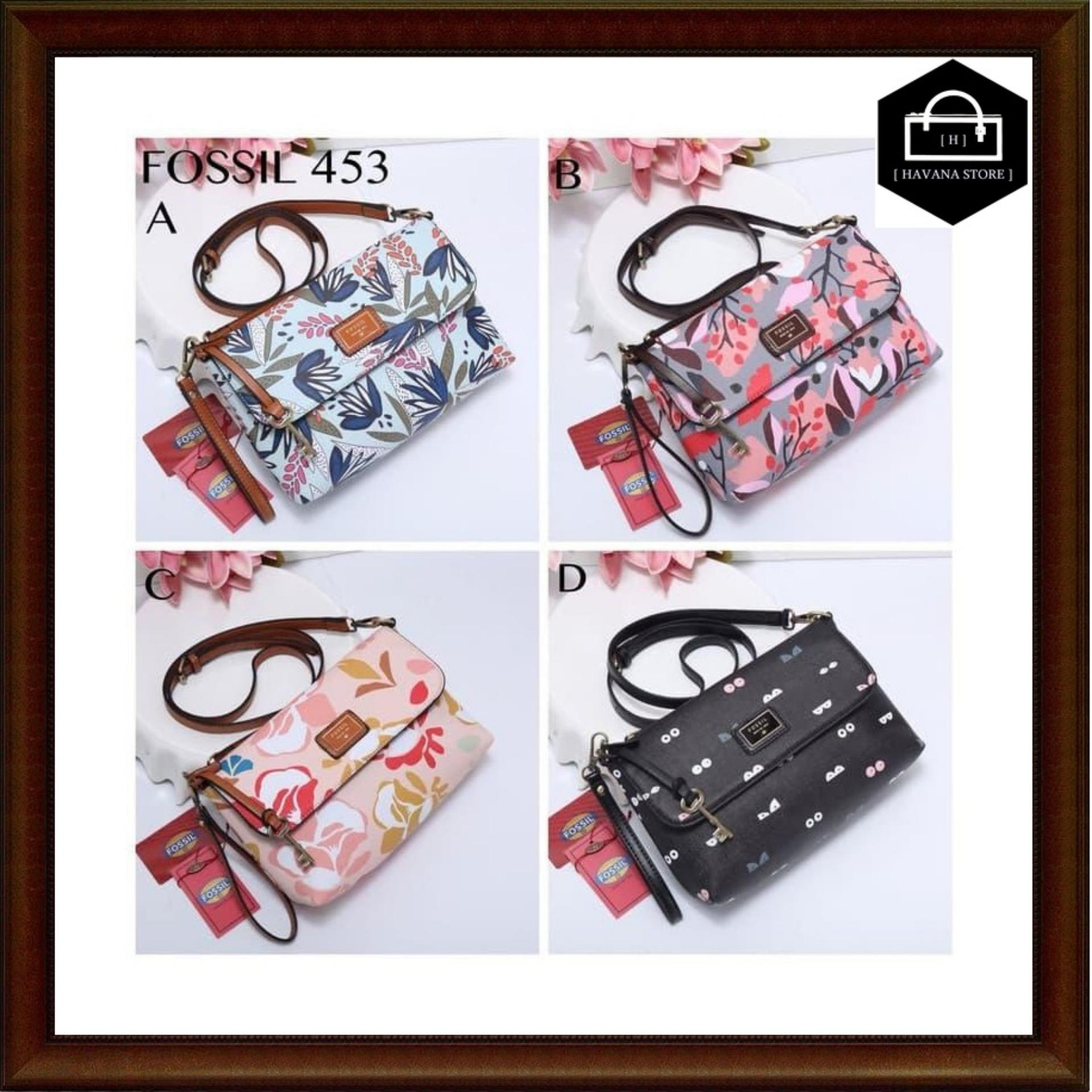 Tas Fossil Hasma Taiga Printing Semprem 453-664   bag   branded   mirror   8156ef8ac0