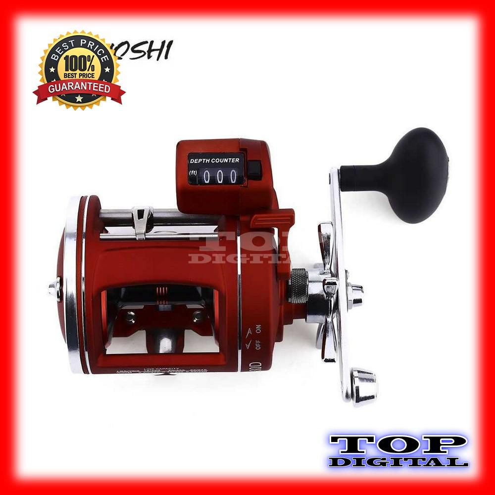 YUMOSHI AC600 30D Reel Pancing 12 Bearing Electric Depth Counting