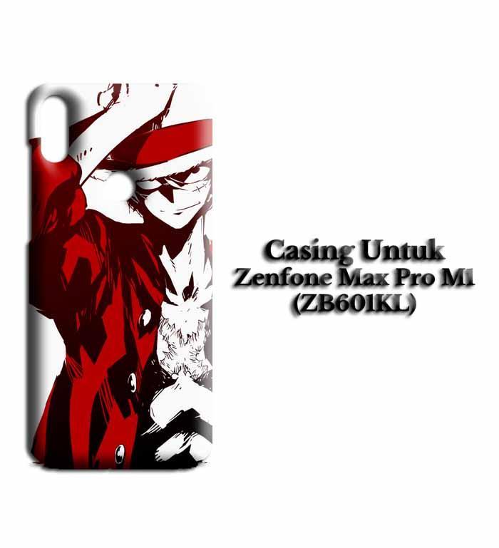 Casing ZENFONE MAX PRO M1 luffy 3 fix Hardcase Custom Case Snitchshop