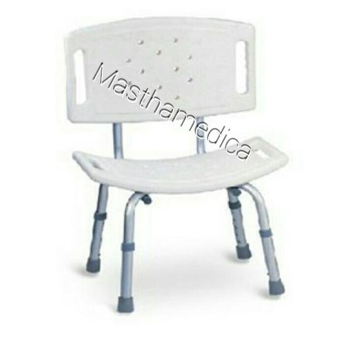 Shower Chair Bath Bench Kursi Mandi Meja Bangku Mandi Aluminium FS798L