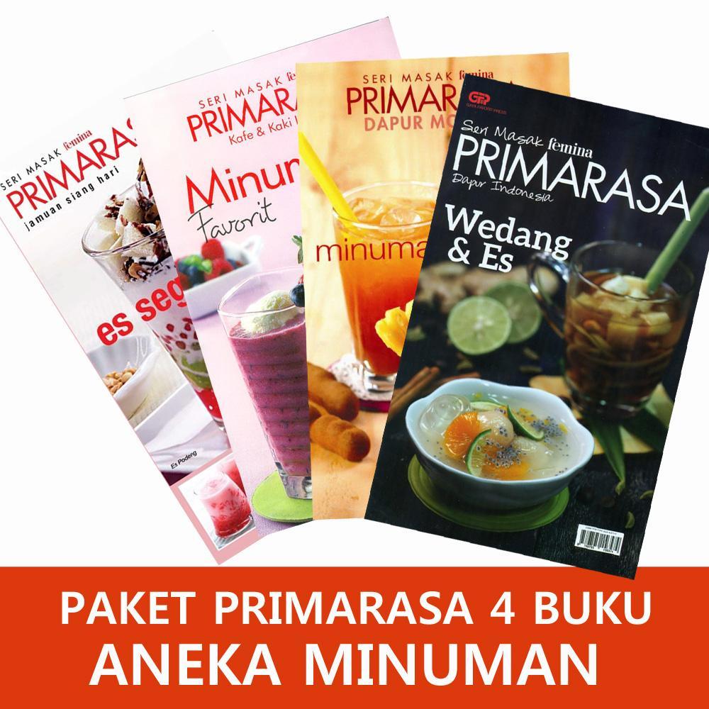 Paket Primarasa 4 Buku Aneka Minuman By Feminagroup.