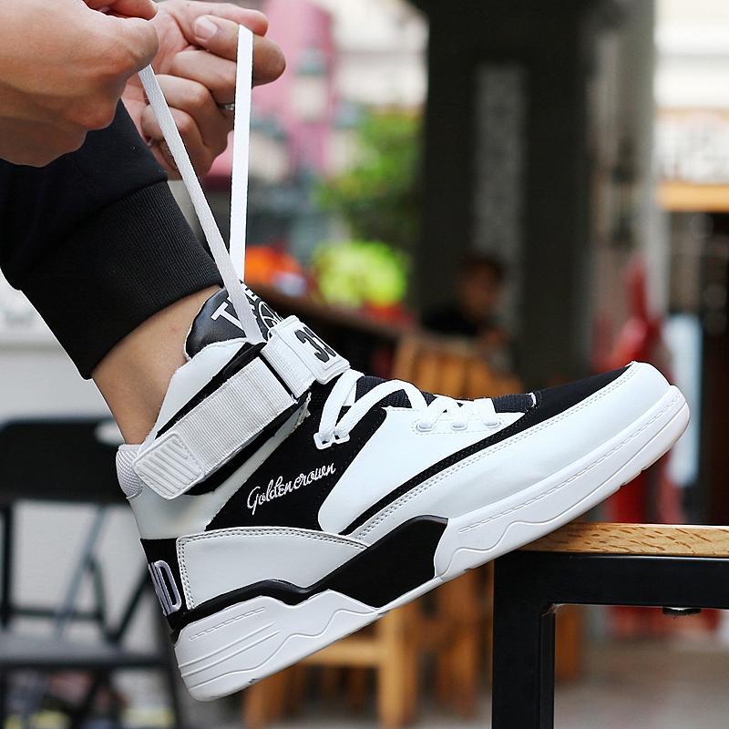 Musim Semi Hip Hop Sepatu Trendi Pergelangan Kaki Sedang Sepatu Olahraga Kasual Sepatu Dansa Jalanan Gaya Barat Sepatu Golden Goose Sepatu Pria Tren Sepatu Sneaker Musim Dingin By Koleksi Taobao.