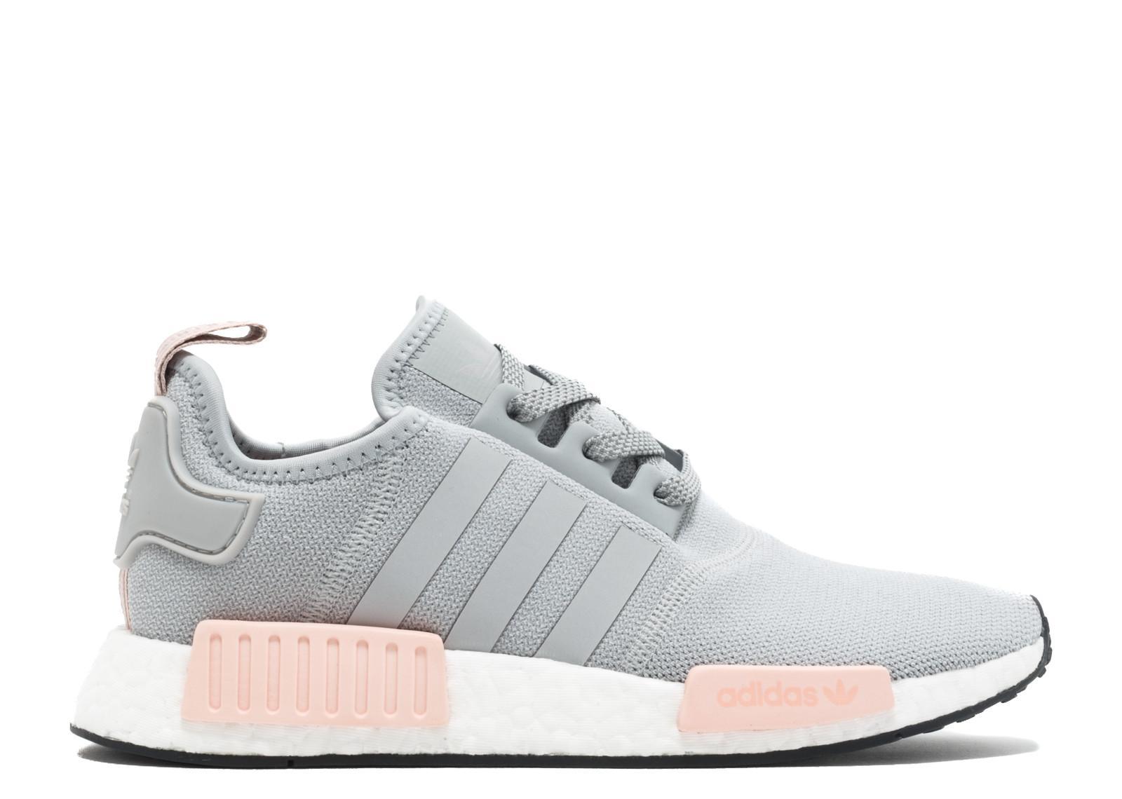 Adidas NMD R1 Grey Sepatu Sneakers Wanita - BY3058