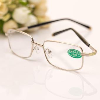 Harga preferensial Kacamata baca Pria dan wanita Schick kaca kristal  Kualitas Unggul Produk Asli minimalis Anti 017d6ceed0