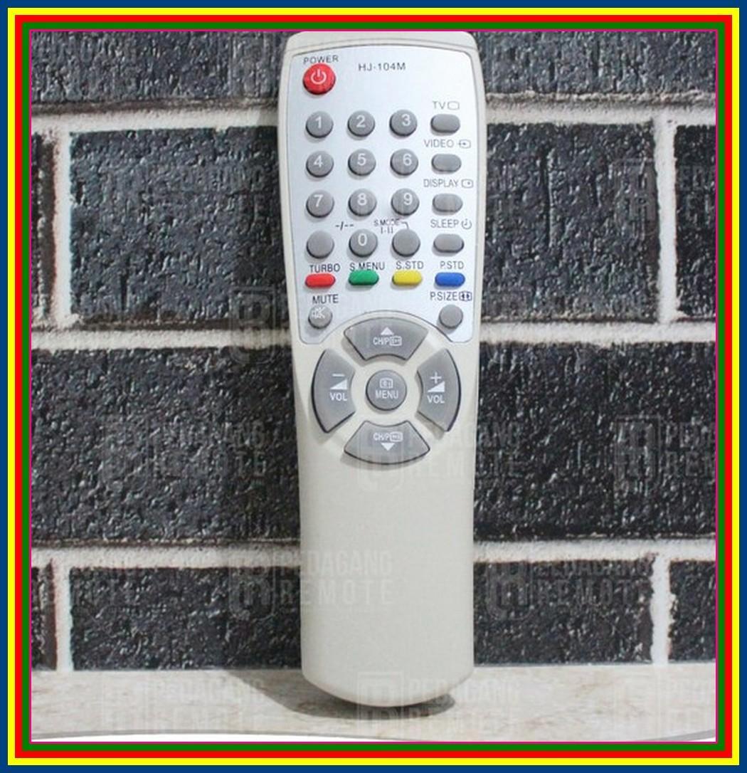 Remot Remote TV Samsung Tabung 00104M KW Super