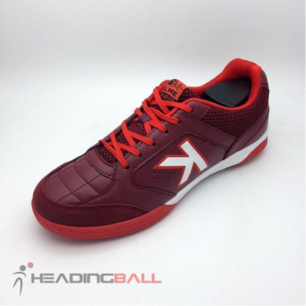 Sepatu Futsal Kelme Original Landprecision Burgundy White 1110063 BNIB