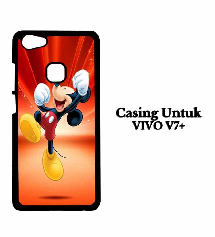 Casing VIVO V7 PLUS mickey mouse wallpaper Hardcase Custom Case Se7enstores