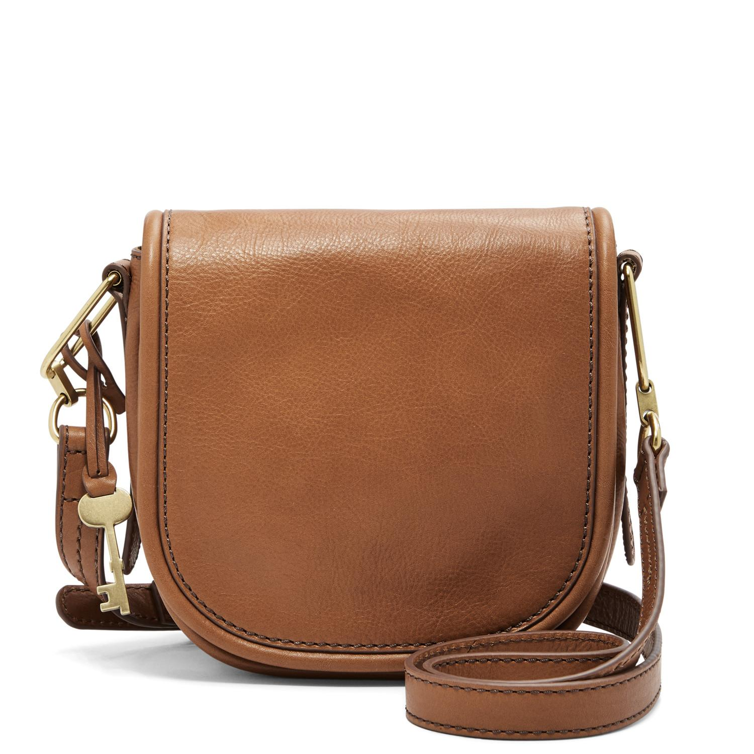Fossil - Rumi Small - Crossboddy Brown Leather - Tas Wanita - ZB7274-216 - SL