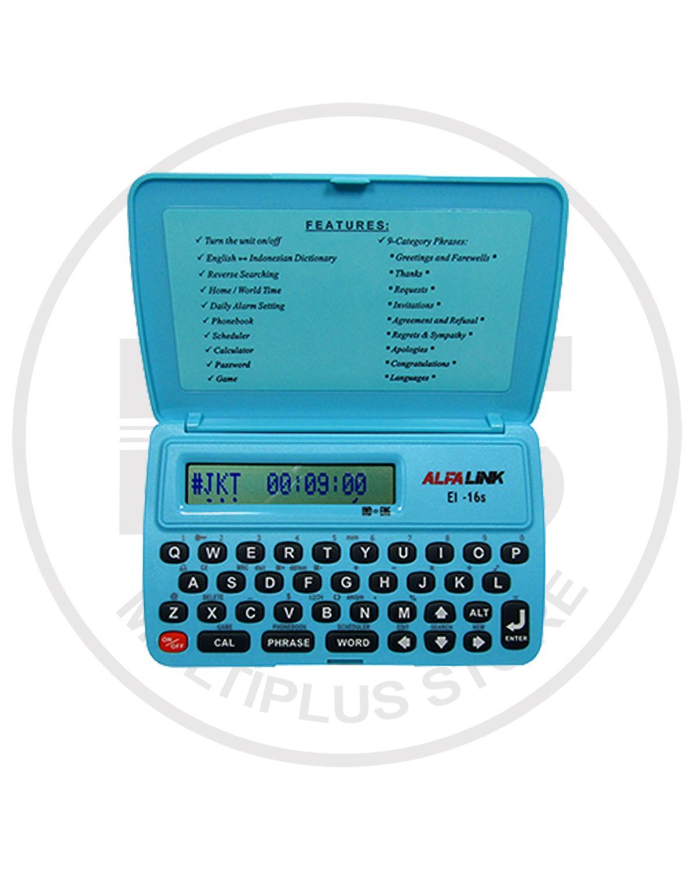 Alfalink Kamus Elektronik EI-16S