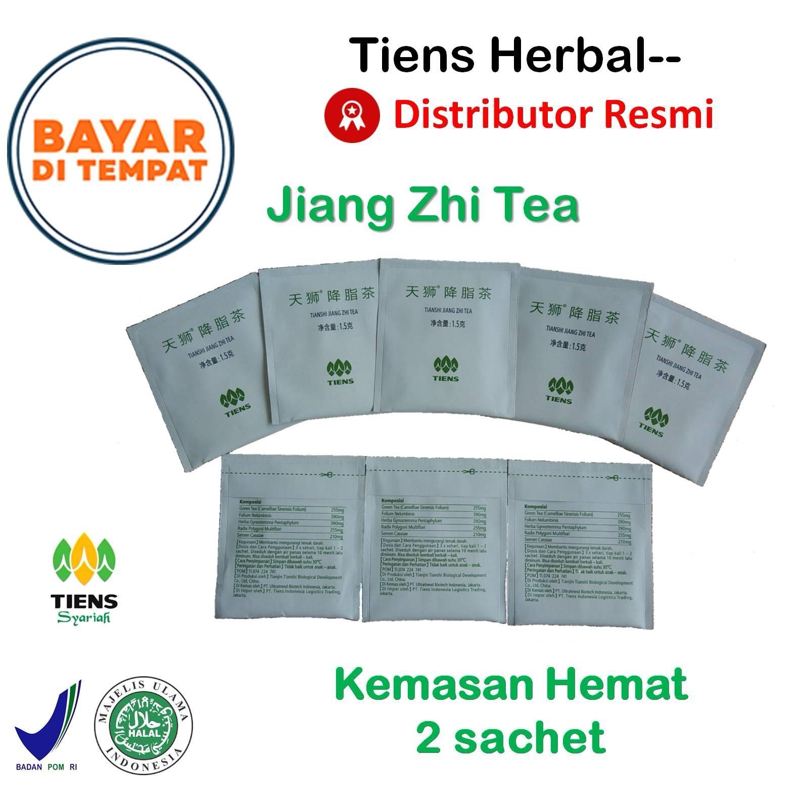 Tiens Herbal-- Jiang Zhi Tea / Teh Hijau / Teh Pelangsing Badan / Penghancur Lemak / Obat Kolestero