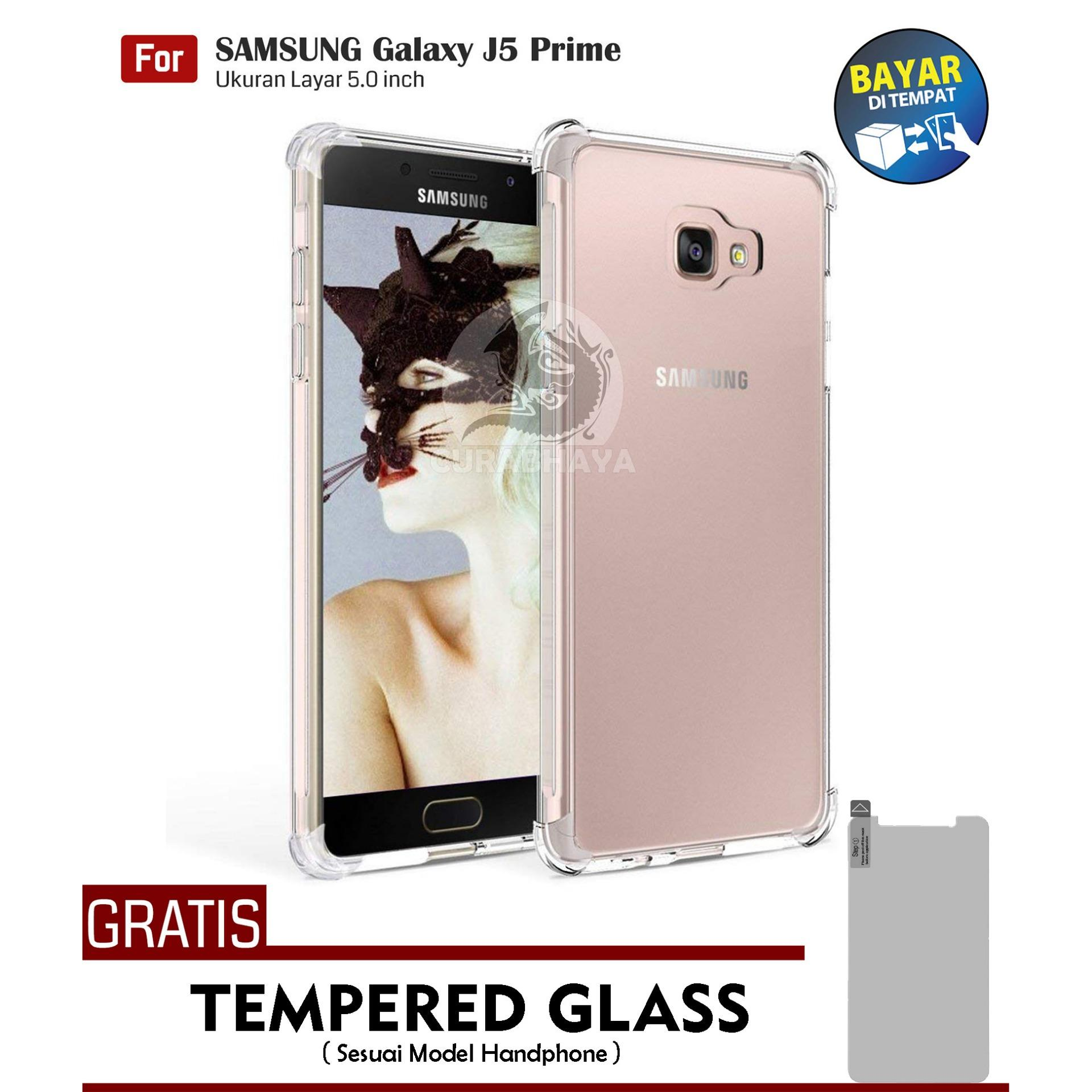 AirShock Samsung Galaxy J5 Prime / On 5 (2016) / G570 / Duos | Anti Crack Premium Softcase Cushion ShockProof - Bening