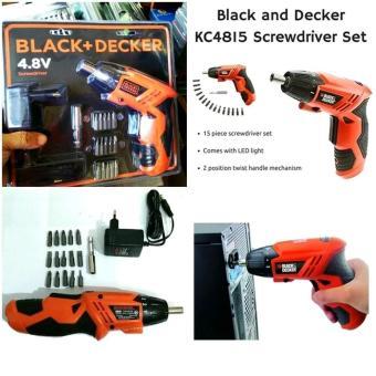 Harga Preferensial Mesin Bor Obeng Portable Charger Black Decker 4 8