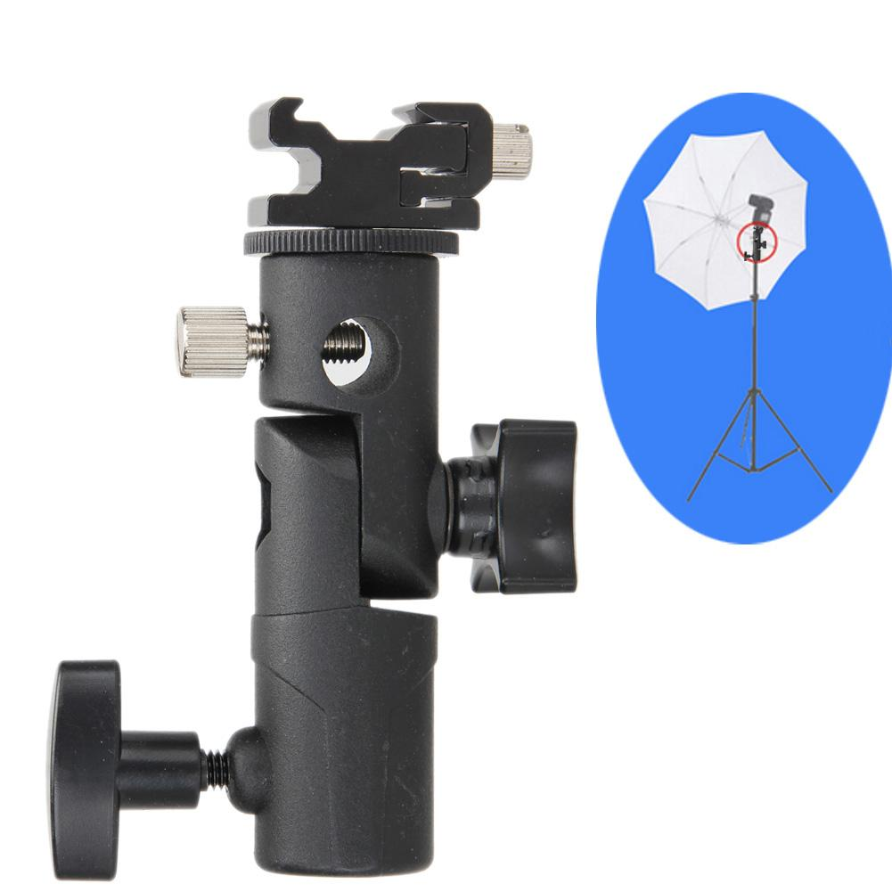 Tripod Hot Shoe Adapter Swivel untuk Flash Kamera DSLR