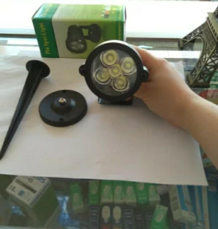 Lampu Taman LED 5W- Lampu Sorot 5W -Led Spotlight-Led Lawn Spotlight