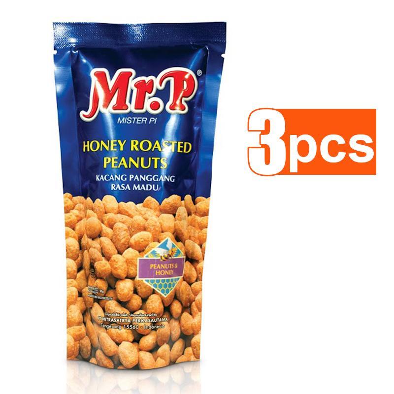 Mr. P Kacang Madu 80 gr [3 pcs]