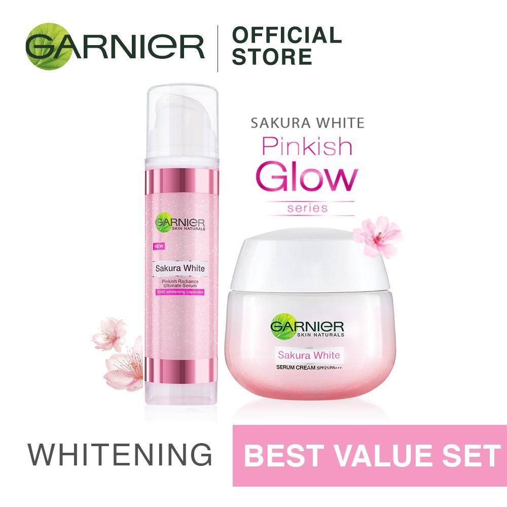 Garnier Sakura Pinkish Glow Series