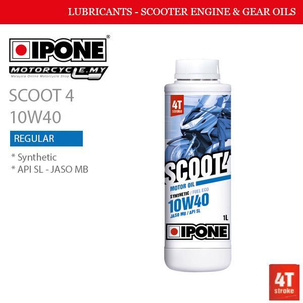 IPONE SCOOT 4 10W40